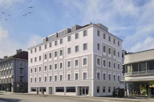 Neubau/Erstbezug im Zentrum: 2-Zimmer-Wohnung