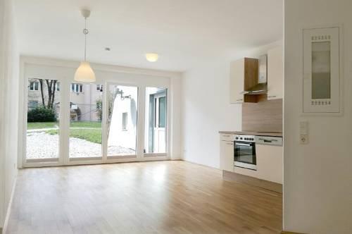 Sonnige Großgarconniere mit 49 m² Kiesterrasse + optional TG