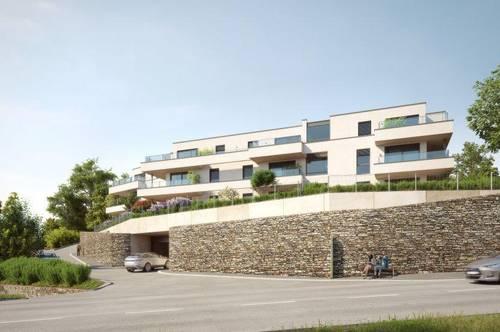 Exklusiver Blick über Krems - Weingartensiedlung