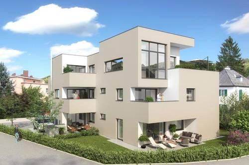 Jetzt Baubeginn! Exklusive 3-ZI-Wohnung mit Wohlfühl- Eckterrasse in Gnigl!