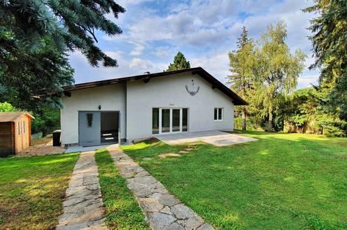 Einfamilienhaus mit Garage in herrlicher Wohnlage