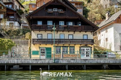 Einzigartiges Mehrparteienhaus samt Geschäftslokal in Hallstatt direkt am See!