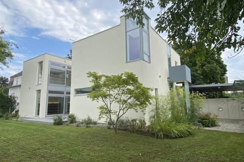 Graz - Liebenau: Moderne Architekten-Villa in ruhiger Sackgasse.