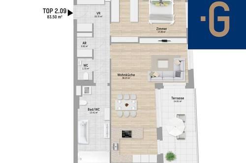 2301, Kaiser Franz Josef-Straße, An der Stadtgrenze Wiens, 2-Zimmer-Eigentumswohnung
