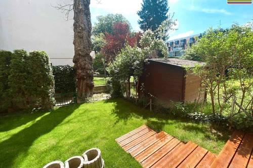 Ihr Glück im Grünen! Rundum sanierte Gartenwohnung in exklusiver Ruhelage!