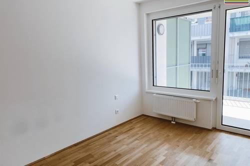 2 Zimmer Wohnung mit Balkon in schönen Neubau Areal