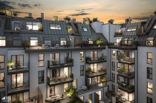 Lemonie: Moderner Neubau 2-Zimmer-Ersbezug mit Balkon