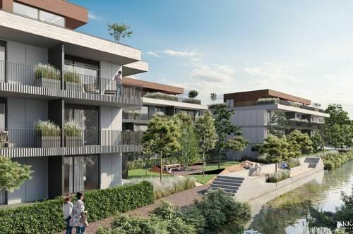 BEL AIR Premium Garden Suites - Attraktive 3-Zimmer Gartenwohnung mit Blick auf den Bach