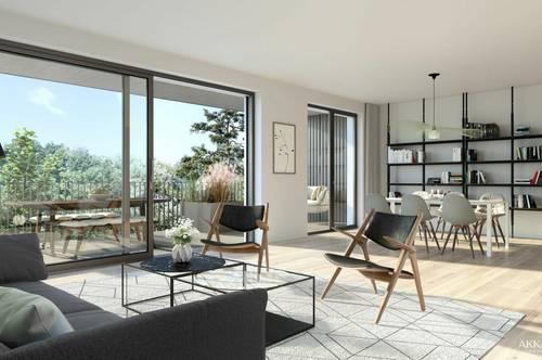 BEL AIR Premium Garden Suites - Wohnen im Grünen - moderne 2-Zimmer Wohnung. Neubau | Erstbezug | Achau