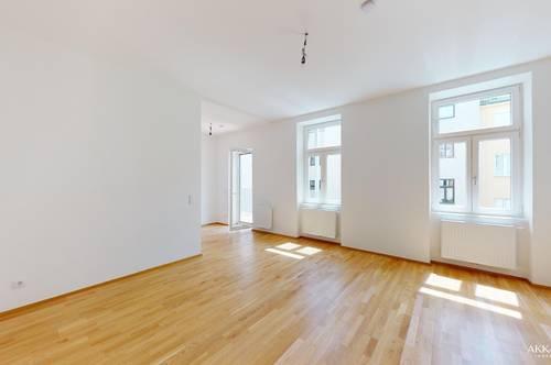 3 Zimmer mit Balkon - Erstbezug - sanierter Altbau – 4.OG