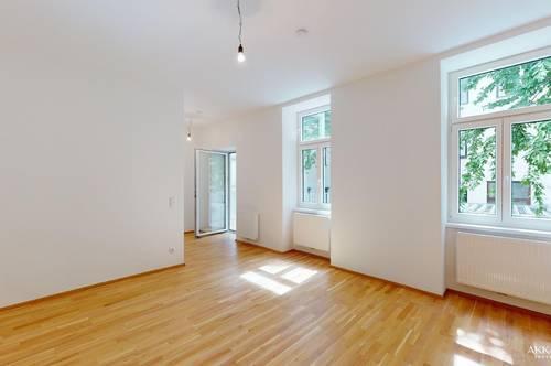 3 Zimmer mit Balkon - Erstbezug - sanierter Altbau - hofseitig orientiert
