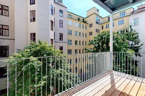 3 Zimmer mit Balkon - Erstbezug - sanierter Altbau – 3.OG