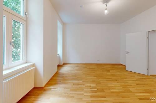 3 Zimmer mit Balkon - sanierter Altbau - hofseitig orientiert - nahe U1!