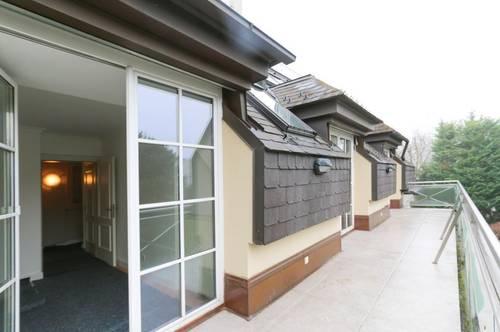 2-geschoßige Maisonette im DG mit Terrasse und Dachterrasse in absoluter Ruhelage