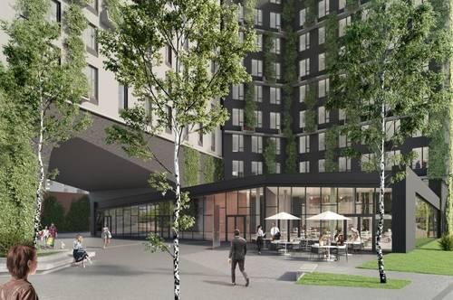 Café/Bar im neuen Stadtentwicklungsgebiet Biotope City