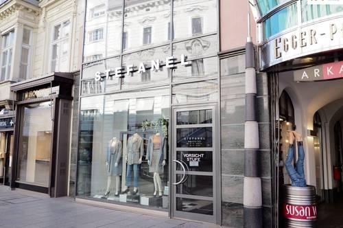 Elegantes Geschäftslokal in 1A-Lage im Zentrum von Linz