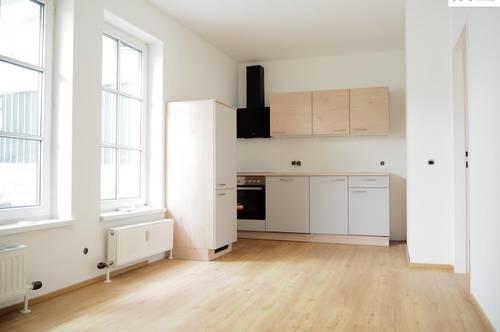 Generalsanierte 2-Zimmer Maisonette mit Balkon am Stadtplatz 16, Top 9