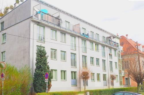 Single-Wohnung mit Balkon - bei der UNI - Heinrichstraße 47 b Top 19A