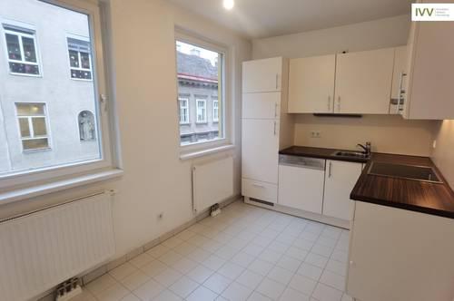 Unbefristete Miete: Gut-geschnittene 2-Zimmer-Wohnung nahe Kutschkermarkt