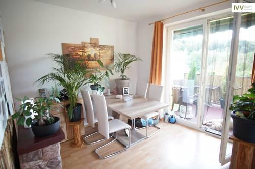gemütliche 3-Zimmerwohnung mit Westbalkon und KFZ Stellplatz