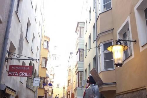 Geschäftslokal in der Innsbrucker Altstadt zu vermieten!