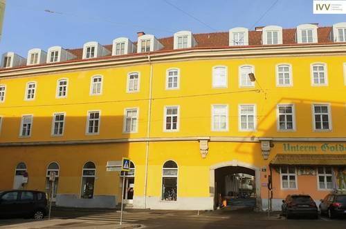 Zentrale 2-Zimmer-Wohnung mit getrennt begehbaren Räumen - WG-geeignet - Schießstattgasse 4 - Top 35