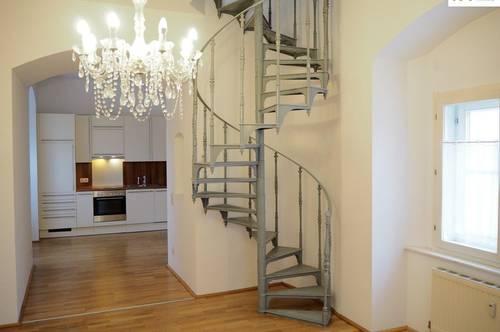 ** AB AUGUST ** Exklusive 3-Zimmer Wohnung mit neu saniertem Bad im Schloss Lichtenegg - Top 17
