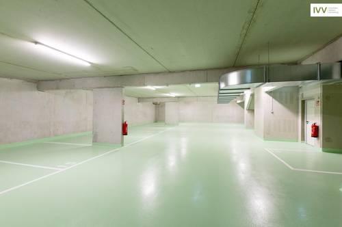 BESICHTIGEN: SICHER UND KONTAKTLOS! Tiefgaragenplatz in einer neuen, hellen Garage - Köstenbaumgasse 01