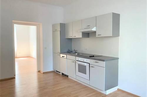 Linz/Stadt (Grillparzerstraße): Kompakte Mietwohnung mit ca. 46 m2 Wohnfläche INKLUSIVE KÜCHE