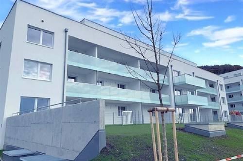 Steyregg: WANN, wenn nicht JETZT? - Besichtigungstermin vereinbaren! IHRE GARTENWOHNUNG im WOHNPARK STEYREGG mit ca.50,55 m² Wohnfläche+ LOGGIA