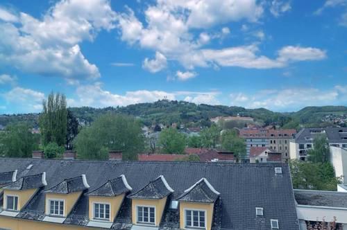 LINZ / URFAHR (LENTIA CITY) : EIGENTUMSWOHNUNG ca. 92,86 m2 Wohnfläche + ca. 8,34 m2 LOGGIA  + Tiefgaragenabstellplatz