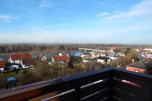 Neu sanierte, 2- Zimmer Wohnung mit Blick über den Inn in Obernberg zu vermieten