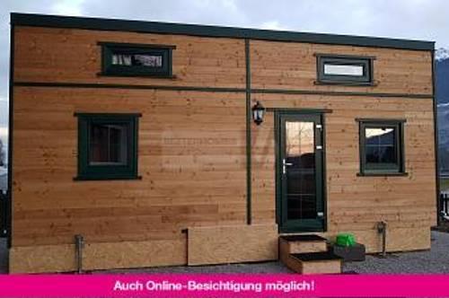 """SCHLÜSSELFERTIGES TINY HOUSE """"ALPENBLICK"""""""