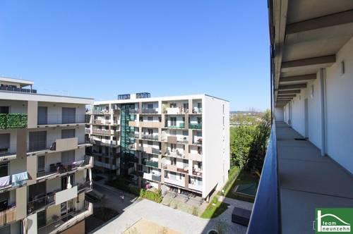 72 m² Nutzfläche! // 2-Zimmer mit großem Wohnzimmer und Balkon! // Top Neubauwohung im Brauquartier Graz-Puntigam! // provisionsfrei mieten mit Team19!