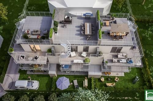 ! PROVISIONSFREI ! - Reihenhaus Nähe der Donau! – Fußbodenheizung mit Kühlfunktion – Traumhafte Dachterrasse – uvm.