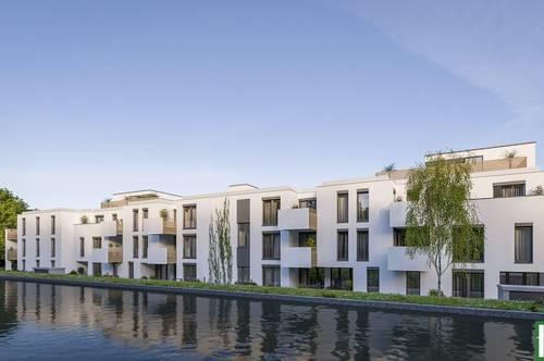 JETZT ZUSCHLAGEN! - Provisionsfreie Neubauwohnung mit Freifläche + Fußbodenheizung! Nähe Bahnhof