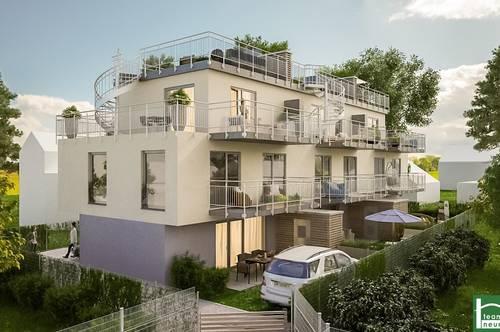 PROVISIONSFREIE Reihenhausvillen in der Nähe der Donau! Fußbodenheizung! Garten/Terrasse/Stellplatz!
