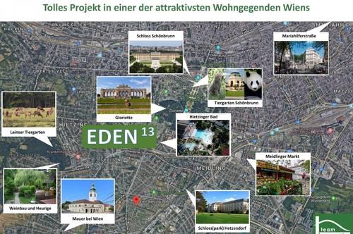 Eden 13- Coole Wohnung mit Balkon, Top Anbindung - Fernsicht!