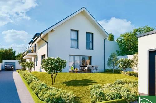 Neubauprojekt-Doppelhäuser- Nahversorgungen in direkter Umgebung- gute Verbindung nach Hainburg und Bratislava!