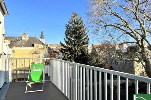 HOFRUHELAGE & FUSSGÄNGERZONE VOR DER TÜRE - PROVISIONSFREI KAUFEN - DG-MAISONETTE