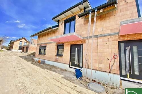 In Fertigstellung-Neubauprojekt-Doppelhaushälfte - Nahversorgungen sowie öffentliche Verbindung in direkter Umgebung!
