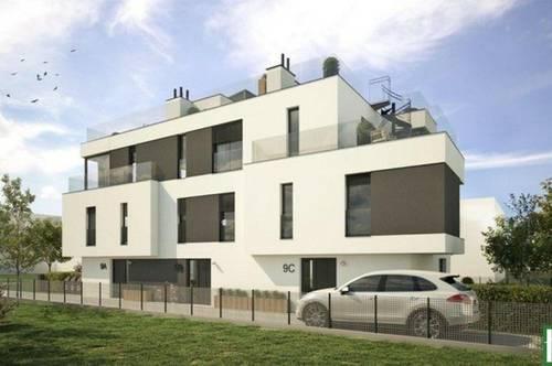 Hier werden Träume wahr! – Wohnen mit Panoramablick auf der Dachterrasse! – Schlüsselfertig - Nähe der Donau – Fußbodenheizung - Garten/Terrasse/Stellplatz uvm.