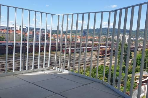 ERSTBEZUG! Toller NEUBAU mit 2 Zimmer - hervorragende öffentliche Verkehrsanbindung - KOMPLETTKÜCHE!