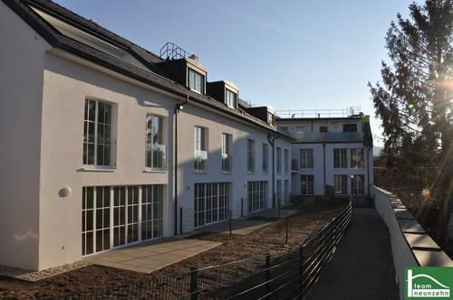 Hauscharakter über 3 Etagen zum Vermieten! Garten + Terrasse + Dachterrasse!