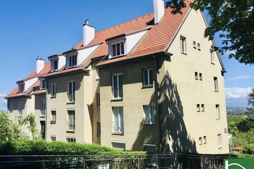 Schöne 2 Zimmerwohnung - Fernblick - Absolute Ruhelage - Begehrte Lage - Nähe Stadtzentrum Mödling - Ausgezeichnete Raumaufteilung