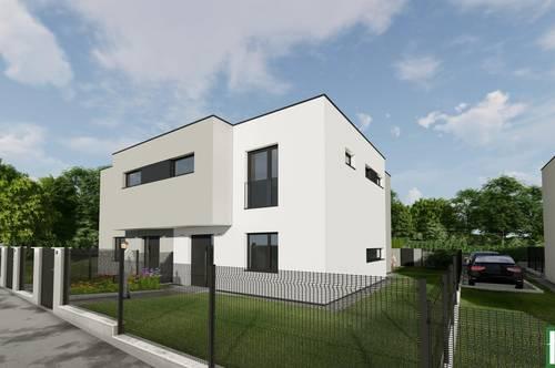 Designerhäuser mit großem Garten in Auersthal