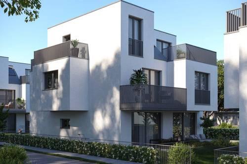 Exklusive Doppelhaushälften! Absolute Ruhelage Nähe Leopoldauer Platz! Großzügige Freiflächen!