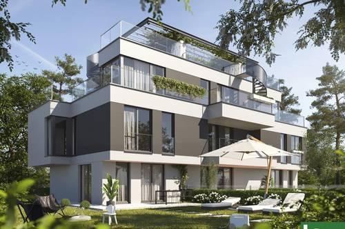 Umgeben von Natur - RUHELAGE inkl. Terrassen - Wohnen beim Marchfeldkanal! Nahe BHF. Floridsdorf - höchste Lebensqualität!