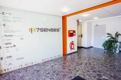 7 Senses - Büro und Lagerflächen von 22 - 600 m² beim Hauptbahnhof