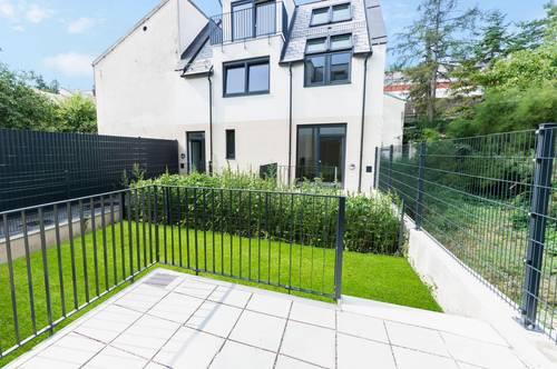 Moderne Doppelhaushälfte mit Eigengarten und ausgebautem Keller